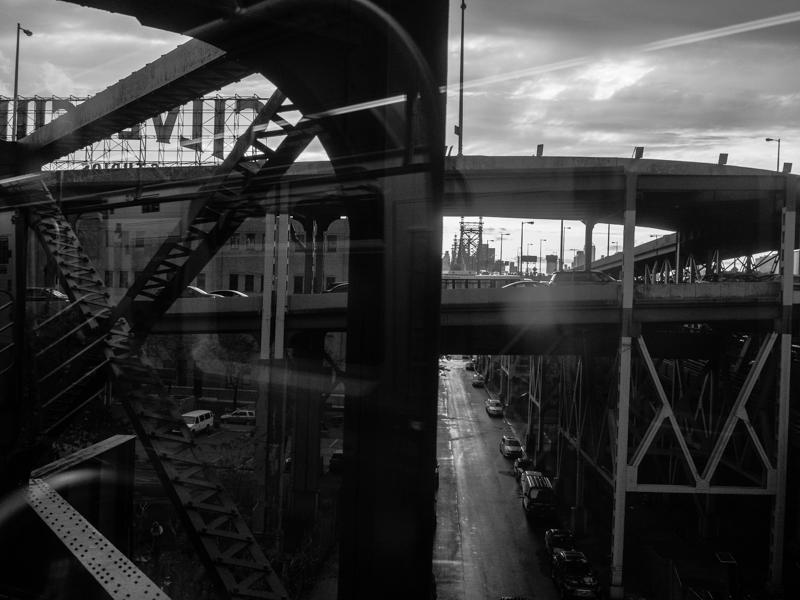 Queens, NY -  7 Train near Silvercup